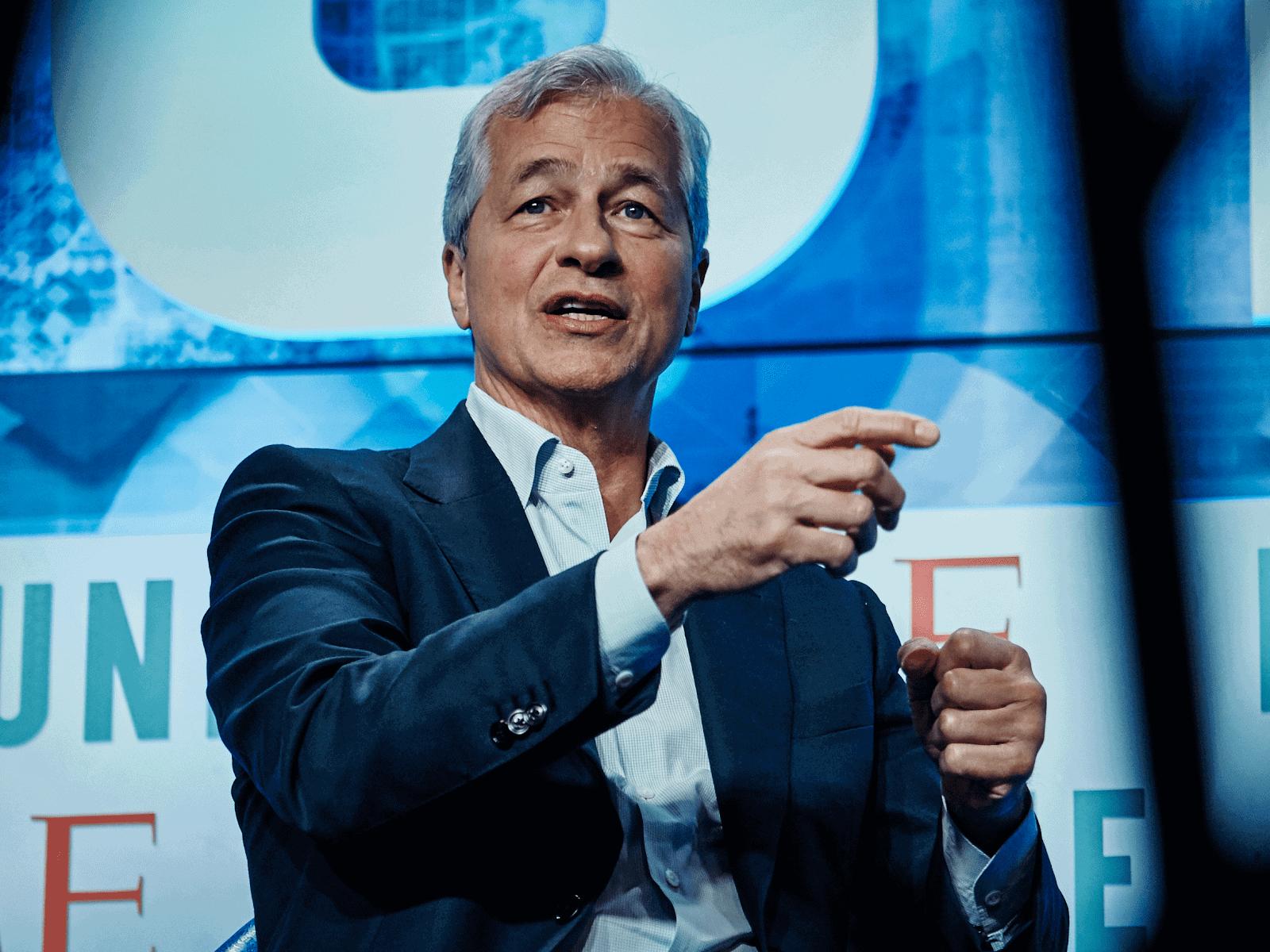Jamie Dimon, the chief executive of JPMorgan.