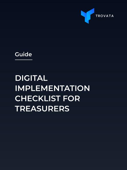 Digital Implementation Guide for Treasurers